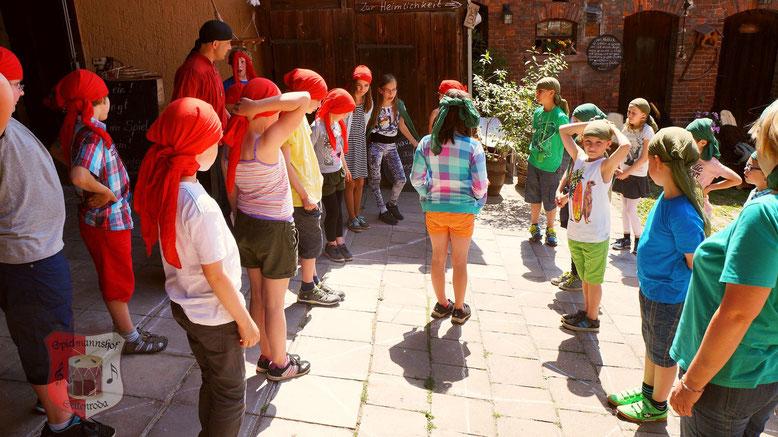 Spielmannshof Seitenroda Alquerque Wandertag Schulklasse
