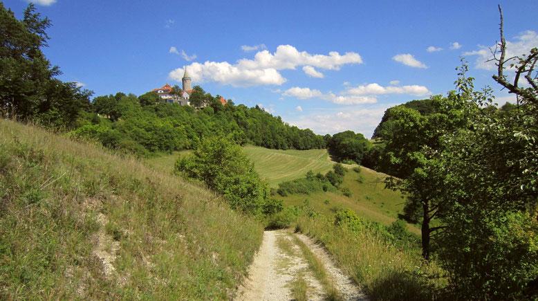 Die Leuchtenburg in Seitenroda - der Heimat des Spielmannshofes für Wandergruppen und Familienausflug