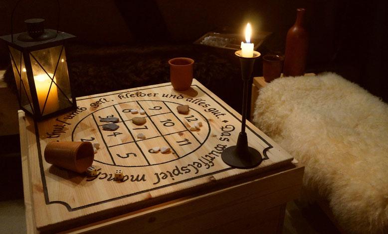 Historisches Glücksspiel auf dem Spielmannshof Seitenroda