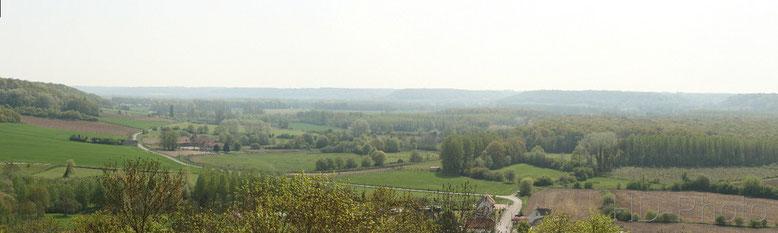 Campagne depuis Coucy le Château