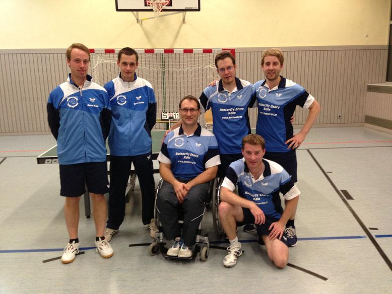 v.l.n.r.: Leo Wengler, Zino Breier, Jörg Didion, Johannes Kaiser, Dirk Scalla, Benny Keilen