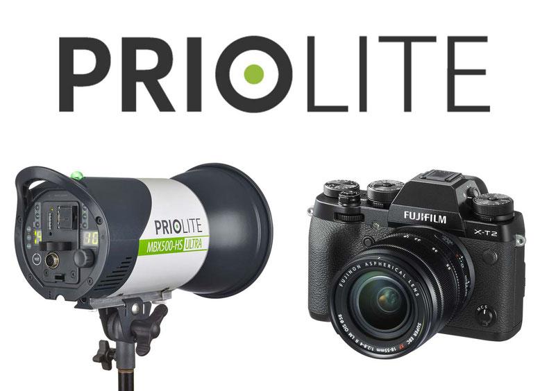 Priolite Hot Sync ab sofort auch für Fujifilm | Fotocredit: https://www.fujifilm.eu/de