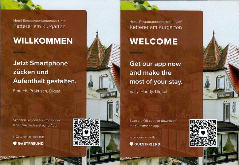 Nutzen Sie unsere neue App um Ihren Urlaub zu planen und den Meldeschein im vorab auszufüllen.
