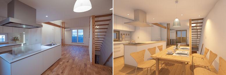 BIMで設計した戸建住宅