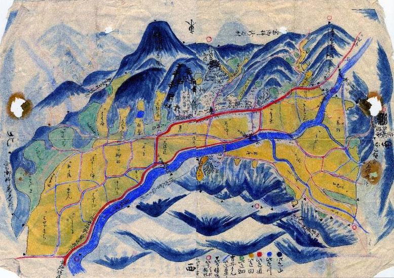 明治時代の地図