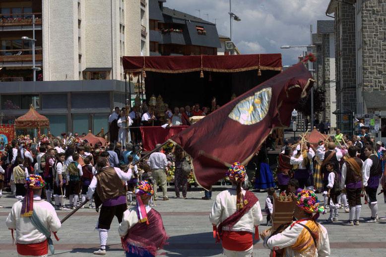 Fiestas en honor a santa orosia jaca
