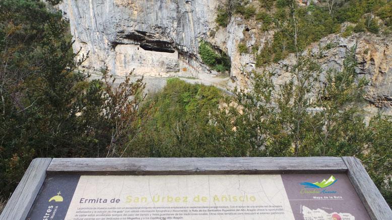 ermita san urbez añisclo