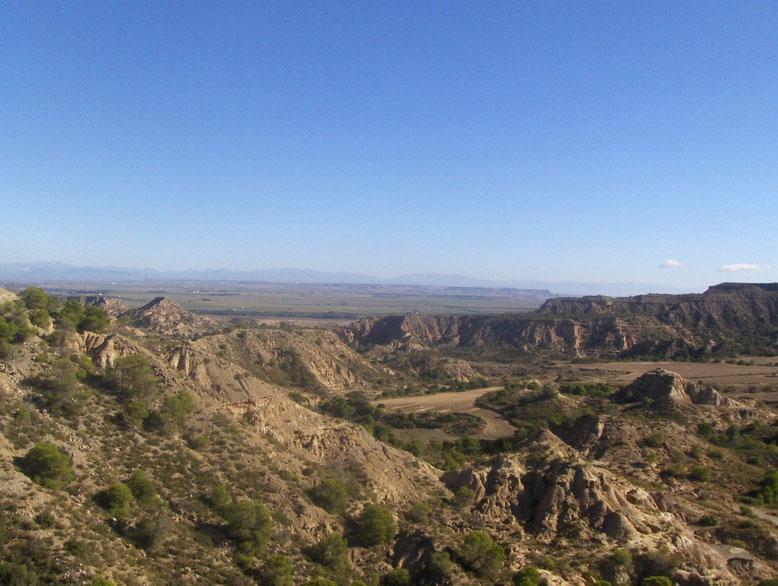 Vistas desde el alto de Jubierre. Foto gracias a JR Pablo
