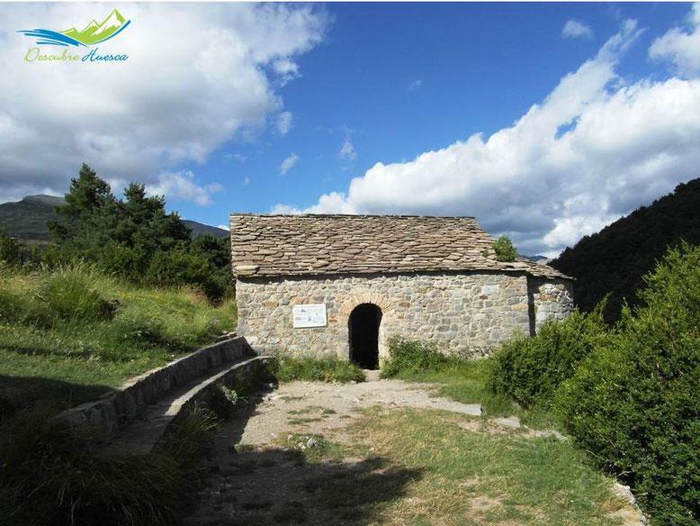 Ermita de la Virgen de la Peña, Tella.