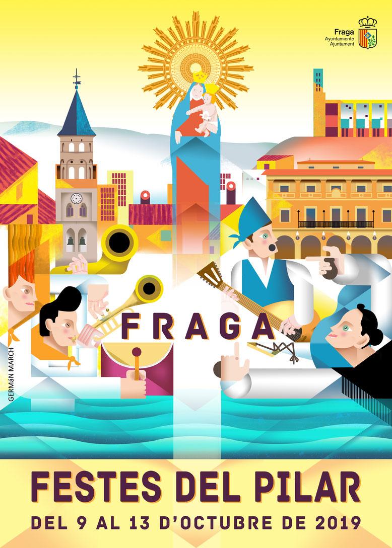 programa fiestas del pilar fraga 2017