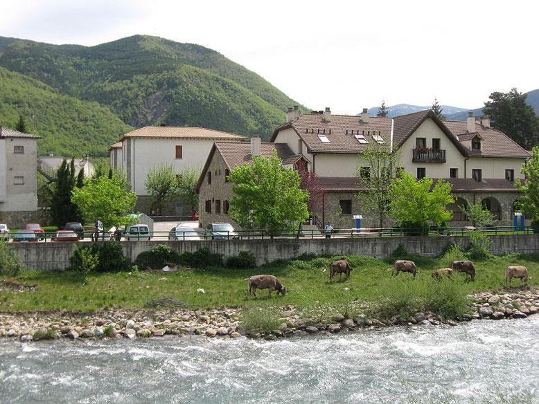 Foto de Biescas. Foto propiedad de Wikimedia.