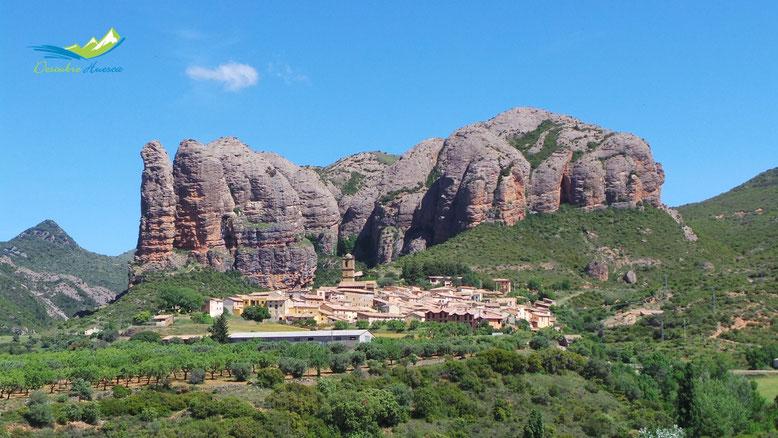Mallos de Agüero Huesca