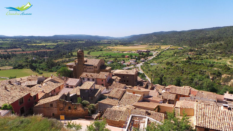 Los Mallos de Riglos desde Murillo de Gallego