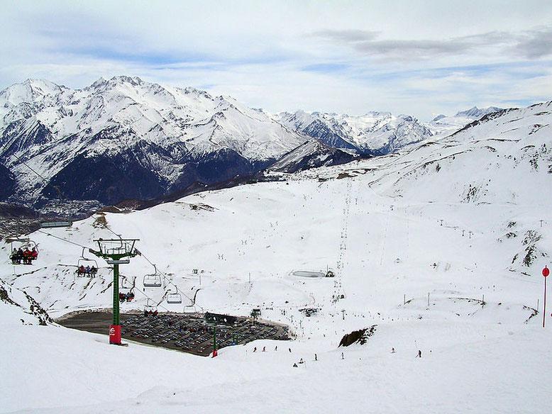 Estación de Esquí de Formigal. Foto propiedad de Wikimedia