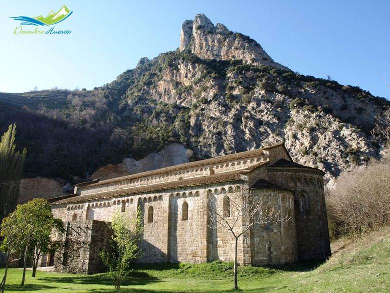 Santa María de Obarra, Huesca.