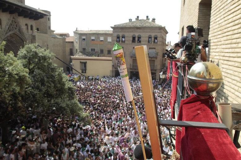 Chupinazo: Cohete anunciador inicio de las fiestas