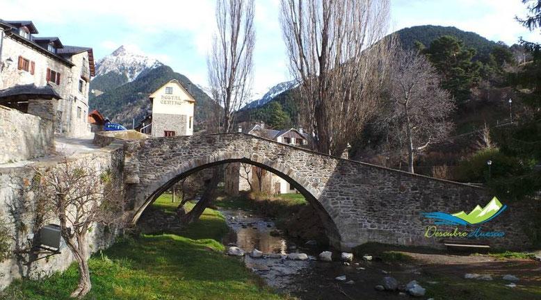 Puente del Paco, Sallent de Gállego.