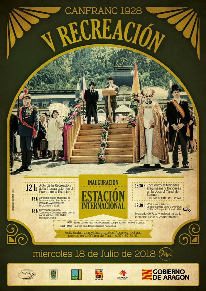 Programa recreación estacion canfranc 2016
