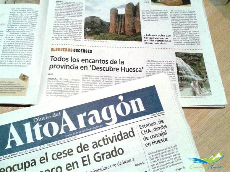 Descubre Huesca en el Diario del Altoaragón