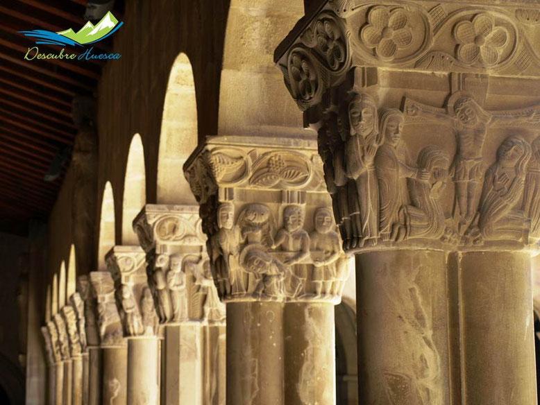 Capiteles claustro San Pedro el Viejo