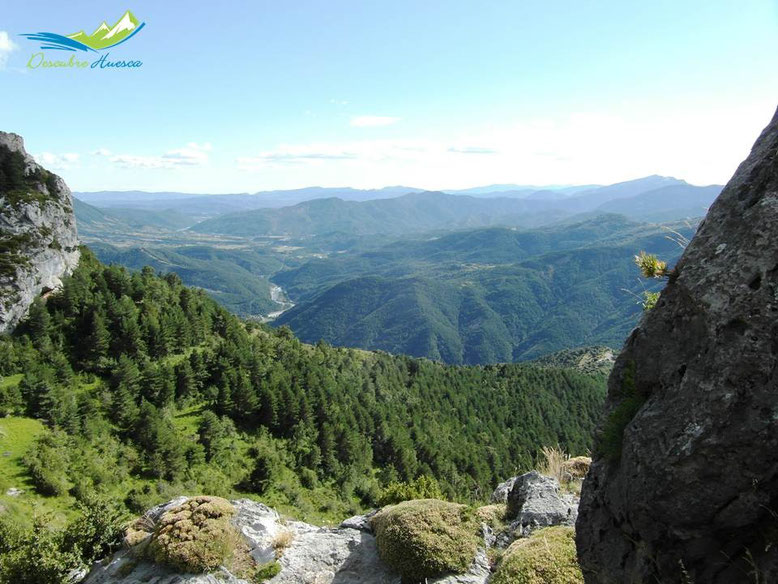 Vistas ruta de las ermitas tella