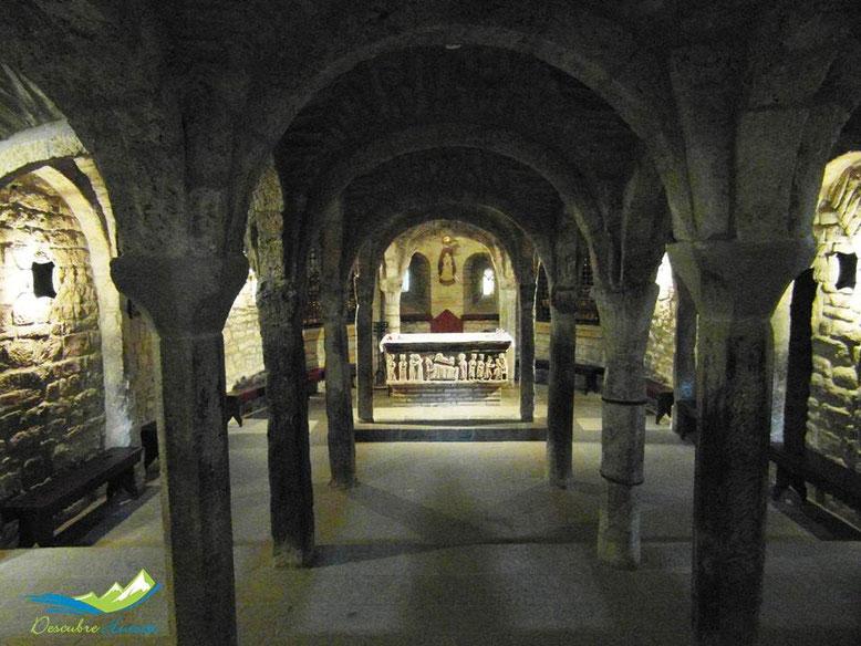Cripta central Catedral Roda de Isábena