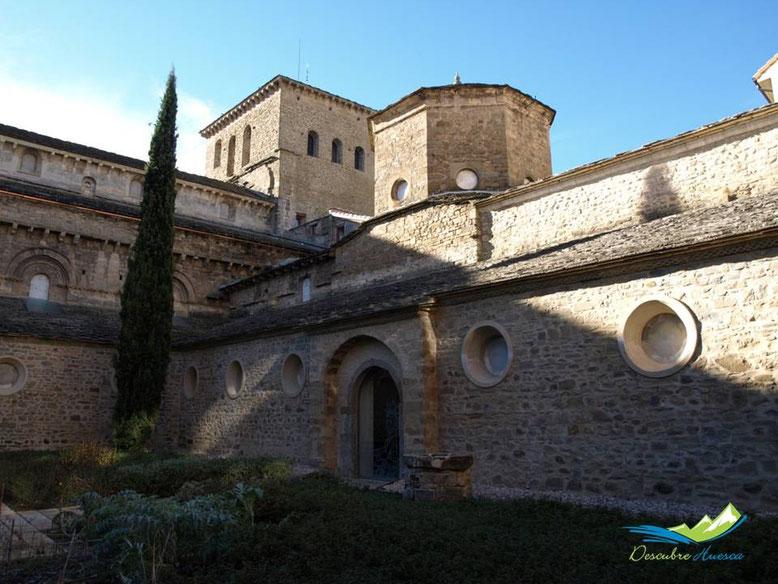 Claustro Catedral de Jaca.