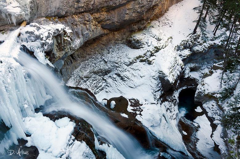 Cascadas en Ordesa. Foto gracias a David Arbués