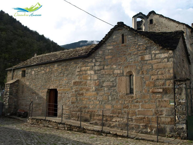 Ermita de San Clemente, Broto.