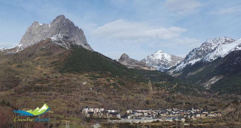 Sallent de Gállego y Peña Foratata, Huesca.
