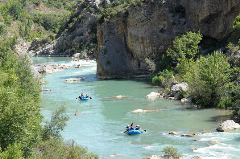 Aventura en la Hoya de Huesca