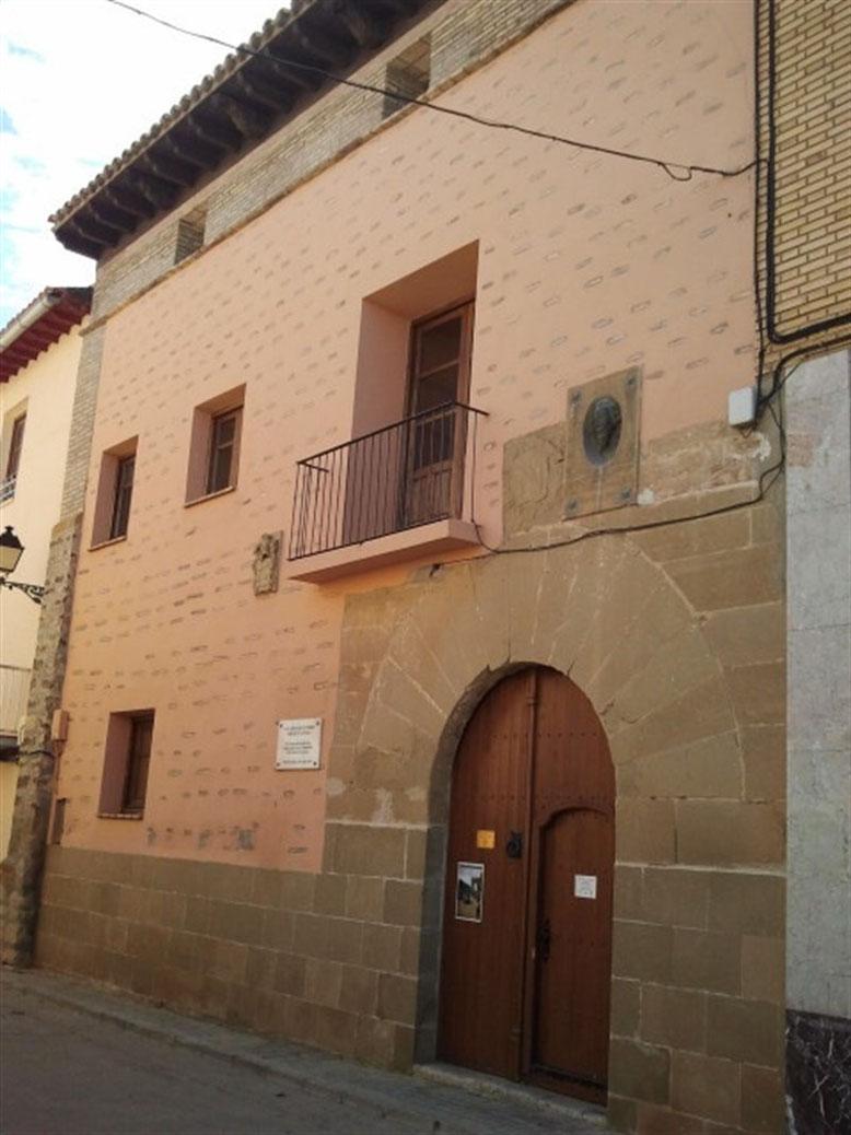 Casa natal de Miguel Servet.