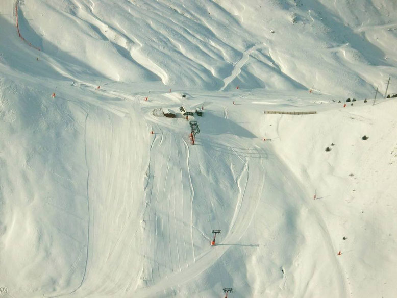 Vista aérea Cogulla Foto: Aramón