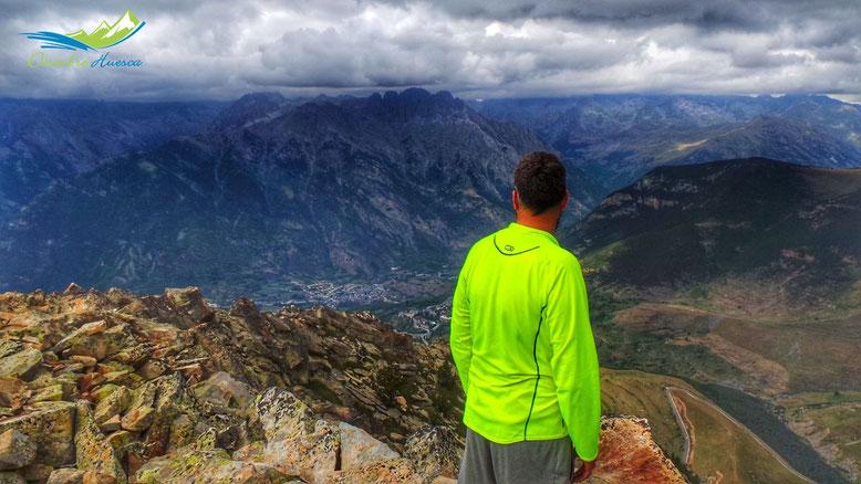 Vistas desde Pico Cerler