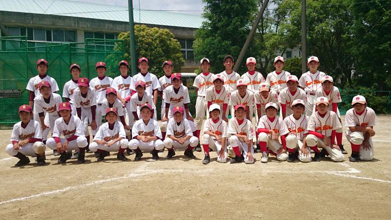 2019.6.9 旭丘サンバーズ(豊中市立第17中学校グラウンド)