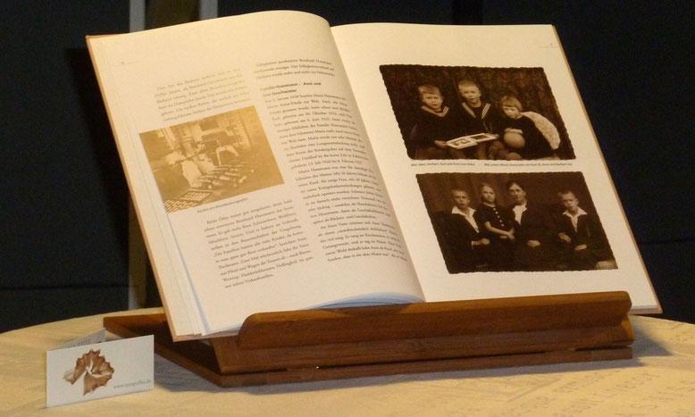 """Biografie als Buch: Firmen- und Familienchronik. Auch das: ein """"Geschenk aus Worten"""""""