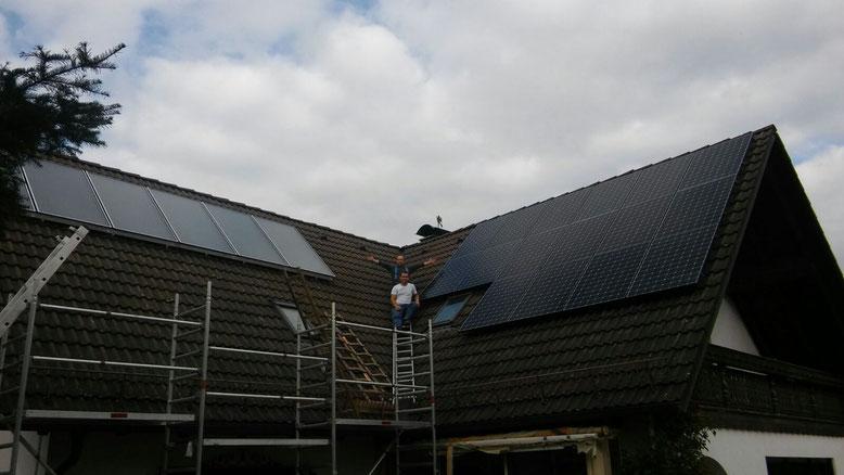 Solaranlage Verkauf, Montage, Betriebsnahme
