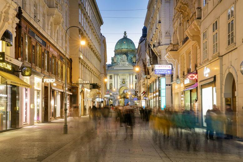 Wiener Kohlmarkt  © Österreich Werbung / Eisenberger
