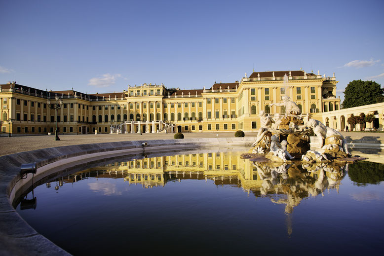 Schönbrunn palace © WienTourismus/Peter Rigaud