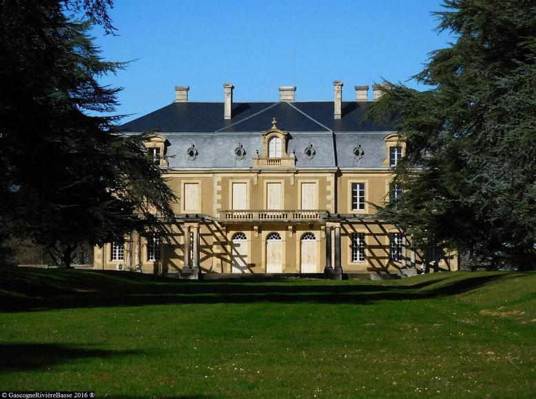 Le château de Lasserrade Théodore de Laterrade gers rivière-basse