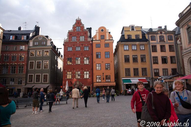 Ist auj jedem Stockholmerfoto zu sehen.