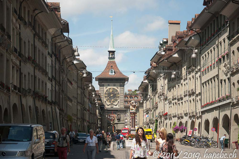 Wohl das meist fotografierte Stadtbild: Der Zytgloggeturm!