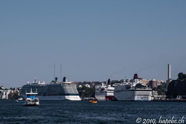 Kreuzfahrtschiffe auch im Venedig des Nordens