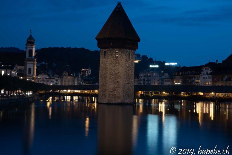 Das Wahrzeichen Luzerns: Die Kappelbrücke