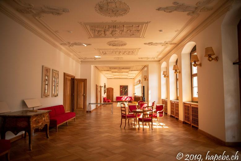 Die Wandelhalle des Berner Rathauses