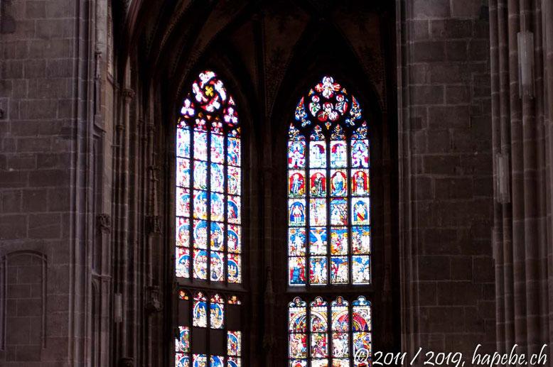 Fenster im Chor des Berner Münsters!