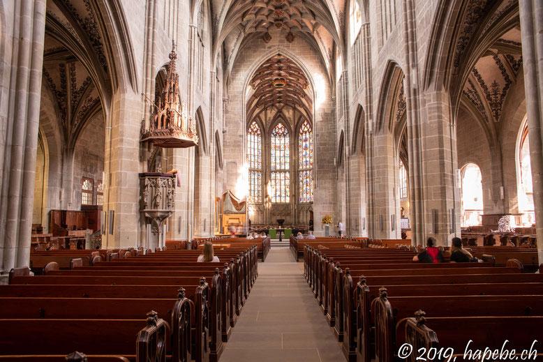 Das Berner Münster, eines der Wahrzeichen der Sadt!