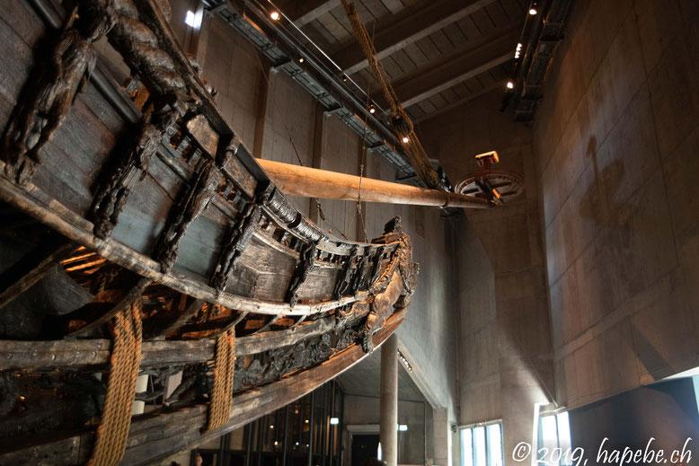 Die Vasa (Ein gesunkenes Vikingerschiff)