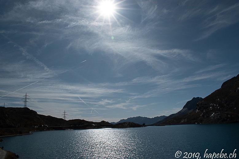 Bilderbuchwetter auf der Bernina