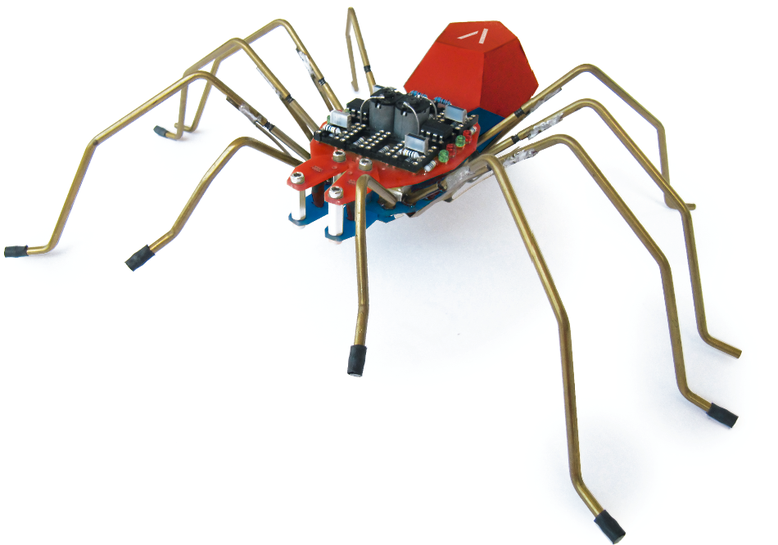 spido - a robot spider as soldering kit